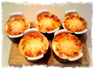 Moussaka - here they are after they've been cooked in the oven!